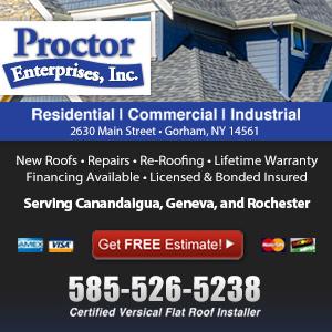 Roofing Contractors Near Canandaigua Ny